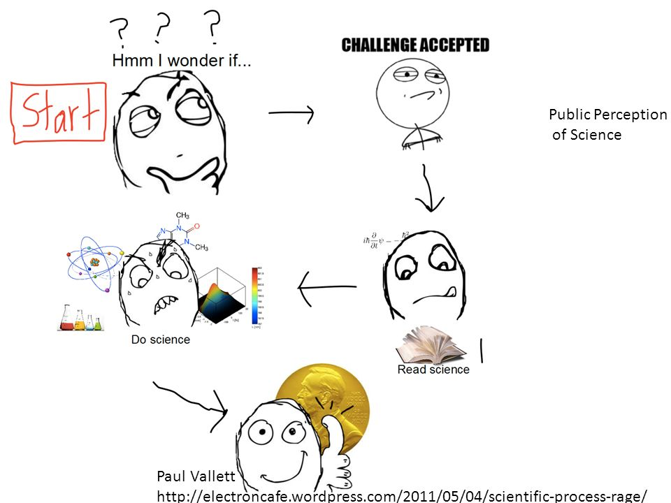Public Perception of Science Paul Vallett http://electroncafe.wordpress.com/2011/05/04/scientific-process-rage/
