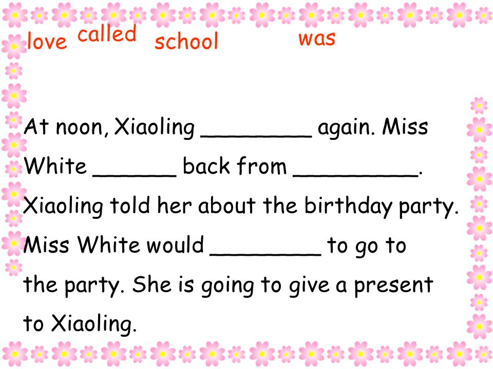 Xiaoling is going to ________________ this Saturday.