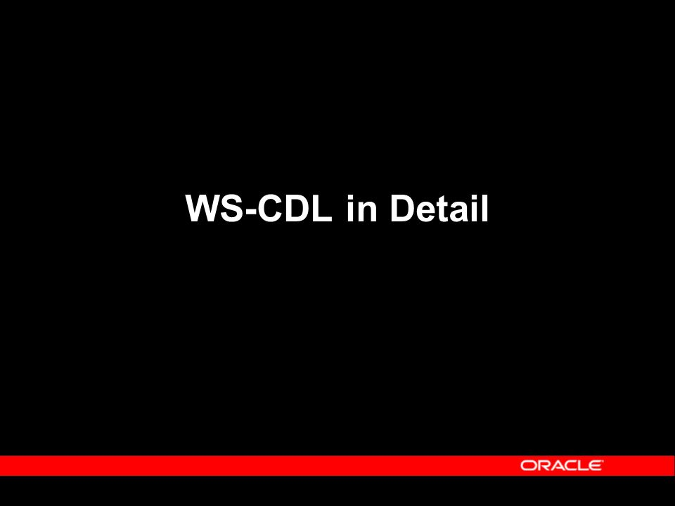 WS-CDL in Detail
