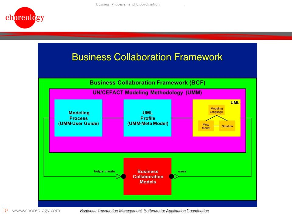 Business Transaction Management Software for Application Coordination 10   Business Processes and Coordination.