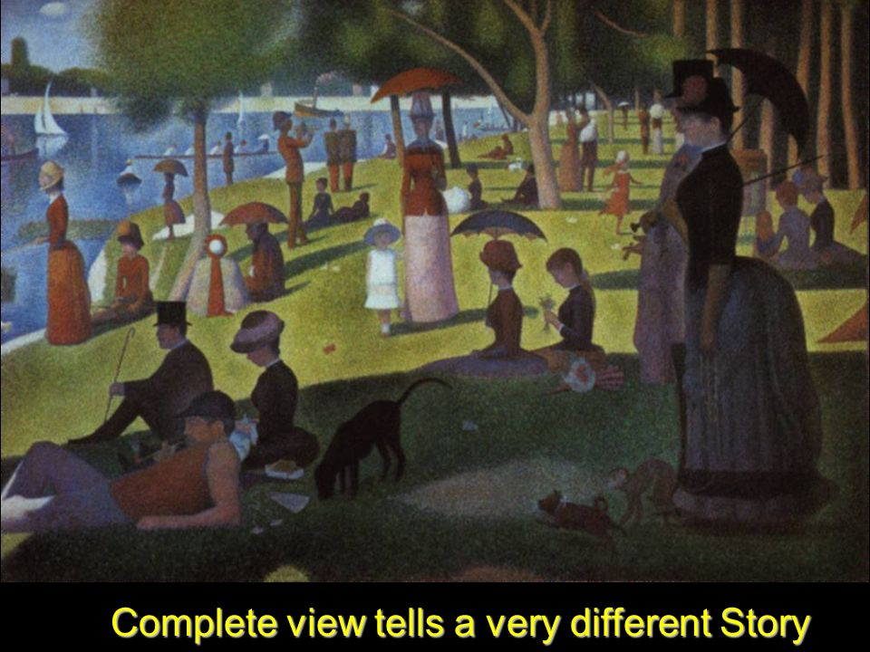 15 Complete view tells a very different Story