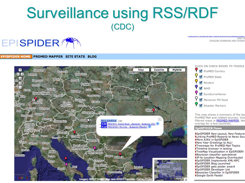 81 Surveillance using RSS/RDF (CDC)