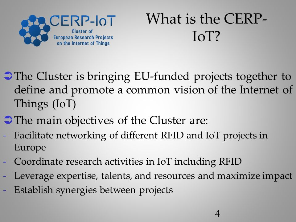 What is the CERP- IoT.