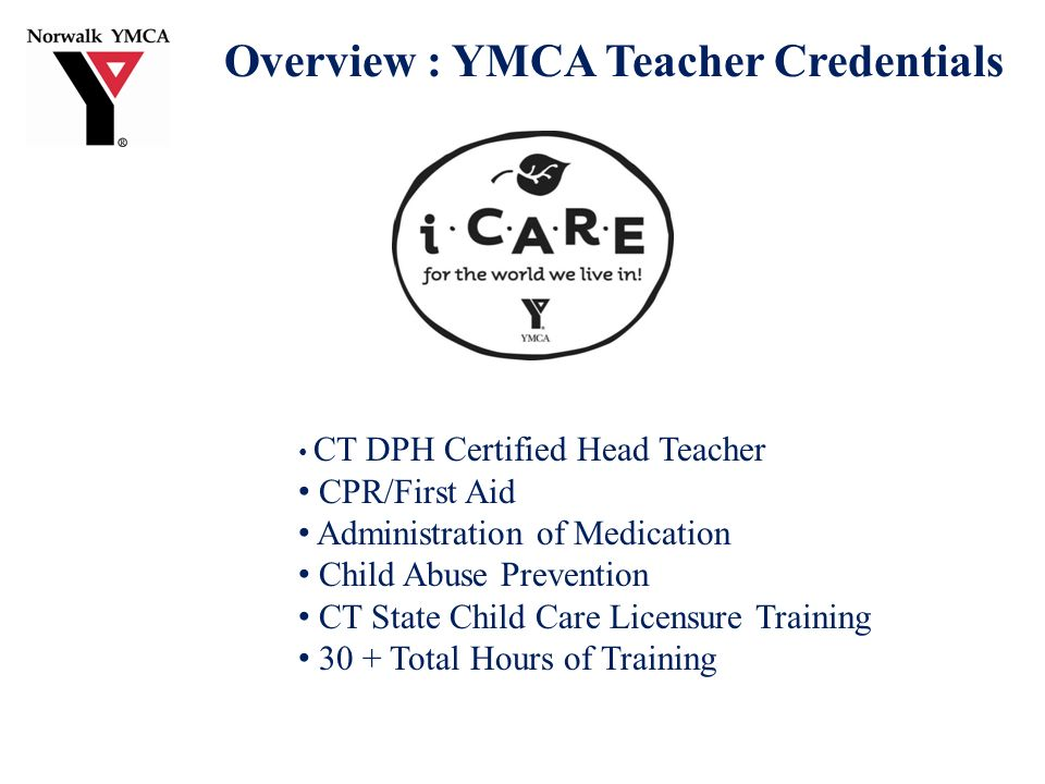 School Age Child Care Sacc Presented By Michael S Case Ceo Ymca Of