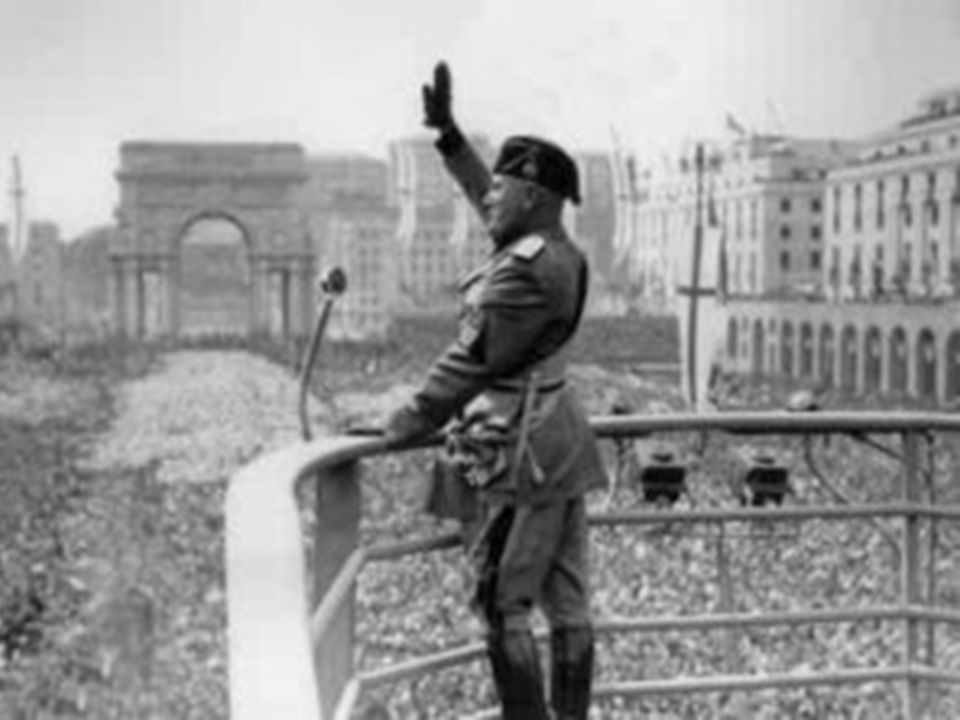 9 Under pressure of violence the king appointed Benito Mussolini when fascists were elected to other important posts.