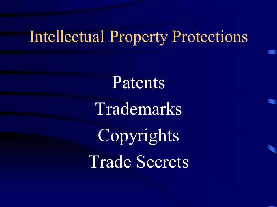 Importance of Intellectual Property Assets Recoup Costs of R & D Protect Market Share Increase Profitability