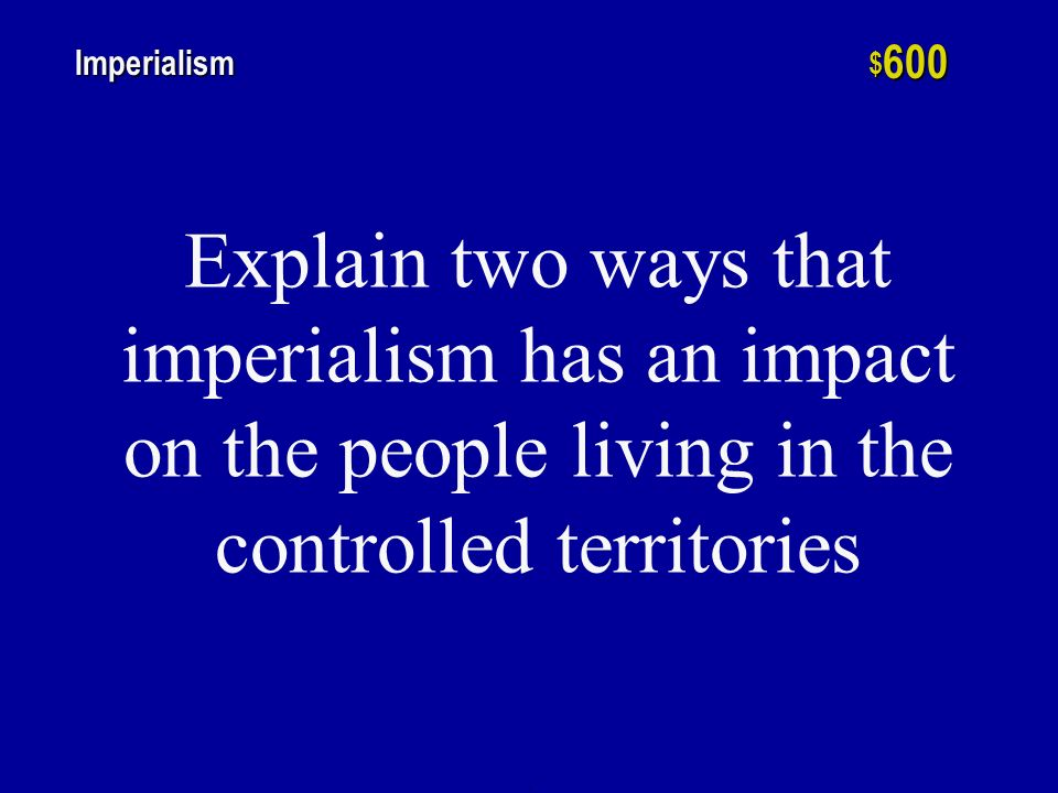 h $ 400 Imperialism The Unites States became an imperialist nation with interests in the Caribbean, Central America, the Far East, and the South Pacific following what war