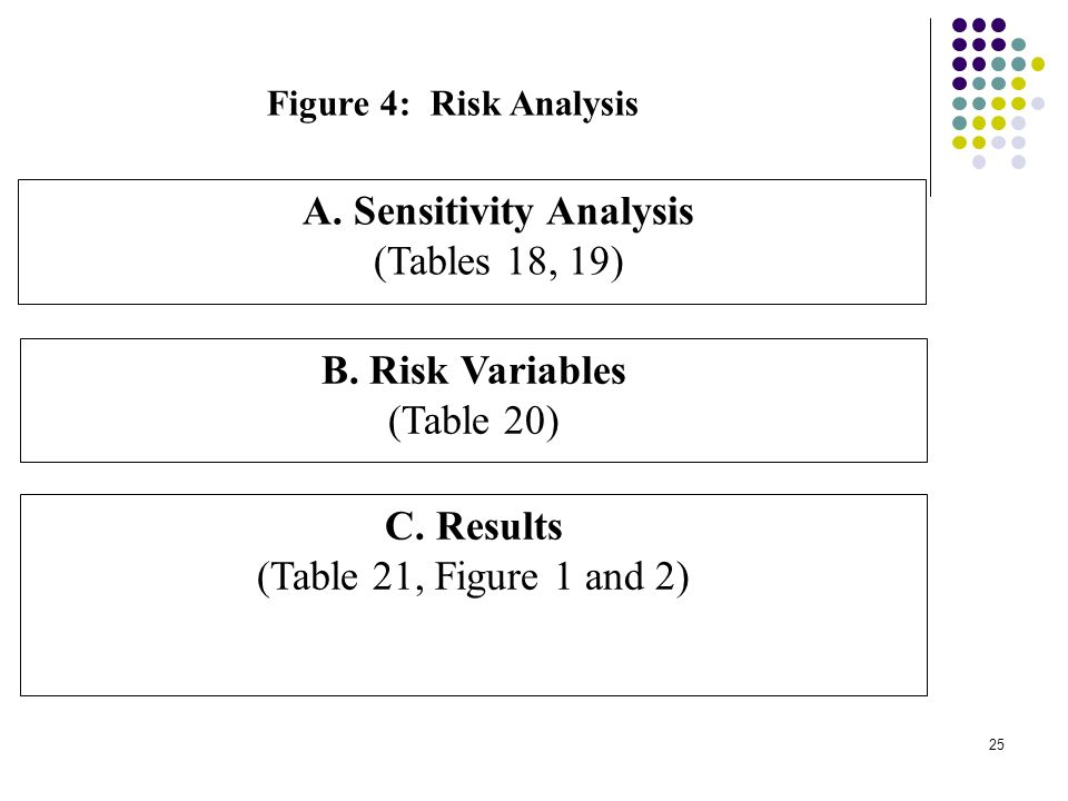 24 Figure 3: Distribution Analysis A. Economic Real Net Resource Flow (Table 14) B.