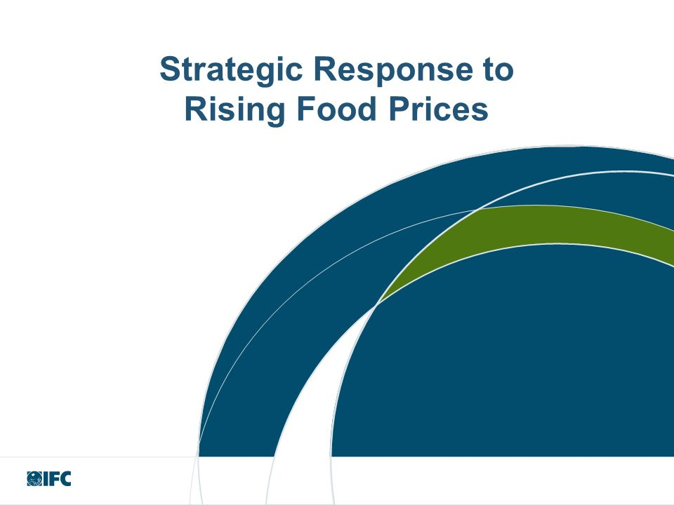Strategic Response to Rising Food Prices