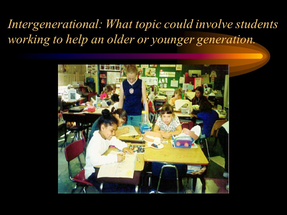 Humanitarian: What topic could my students learn more about by providing assistance to others