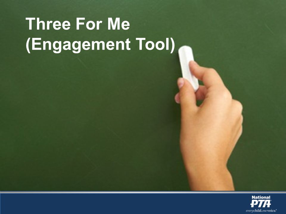 Three For Me (Engagement Tool)