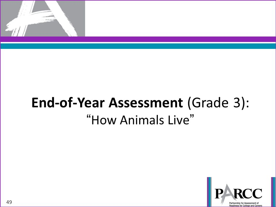 End-of-Year Assessment (Grade 3):How Animals Live 49