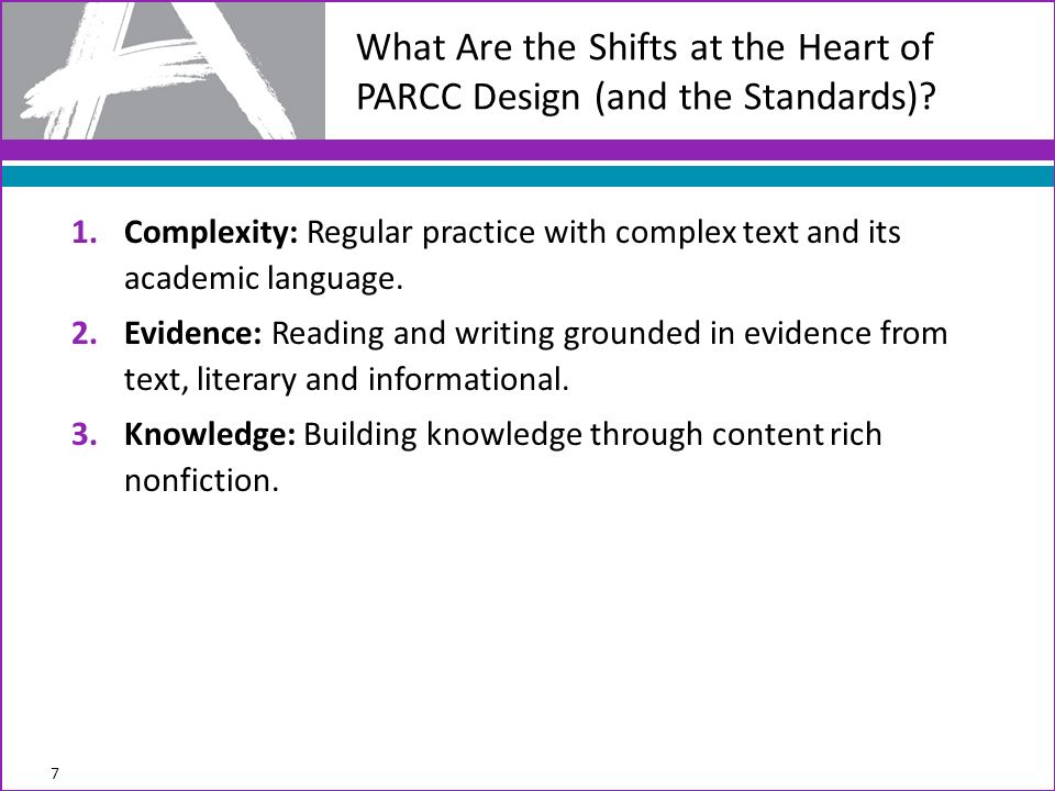 1.Complexity: Regular practice with complex text and its academic language.