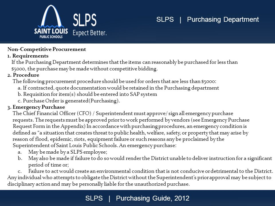 Purchasing Guide Sep200818 Non-Competitive Procurement 1.