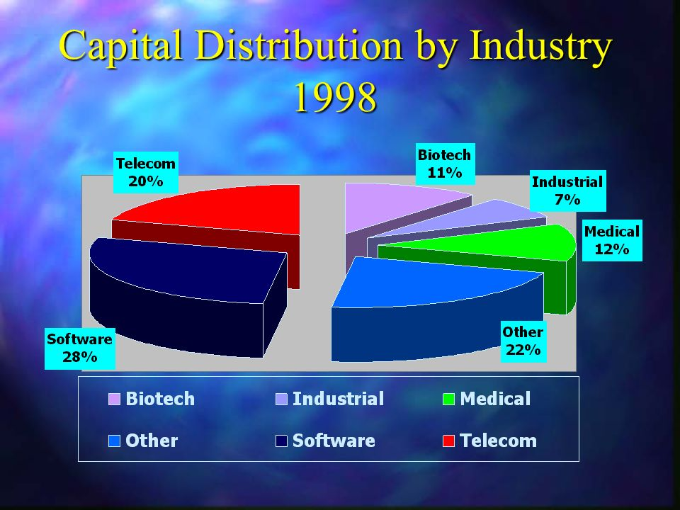 Capital Distribution by Industry 1998