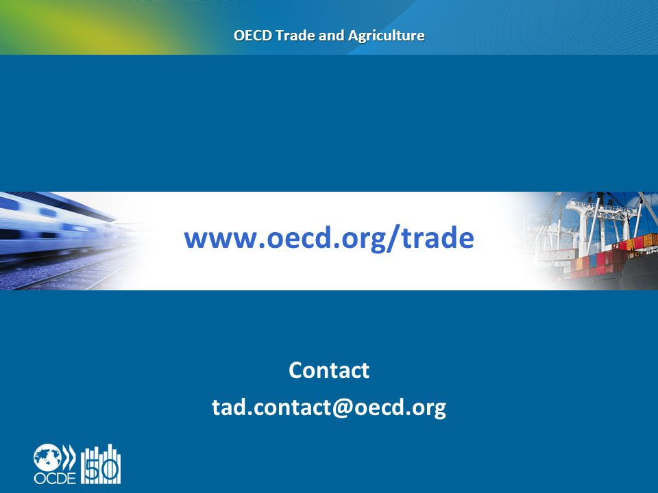 Contact OECD Trade and Agriculture