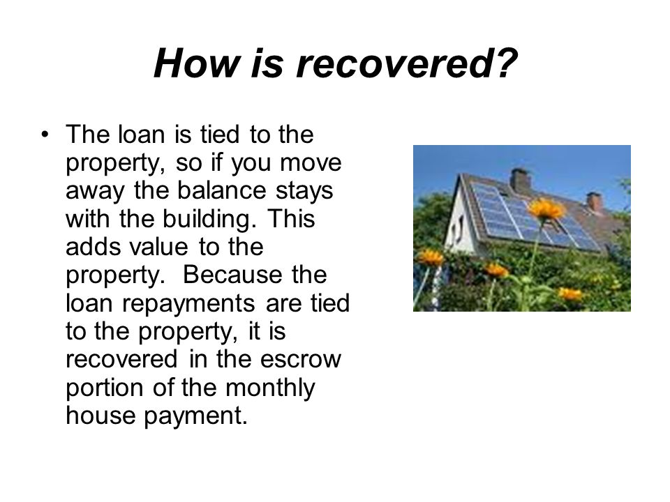 How is recovered.