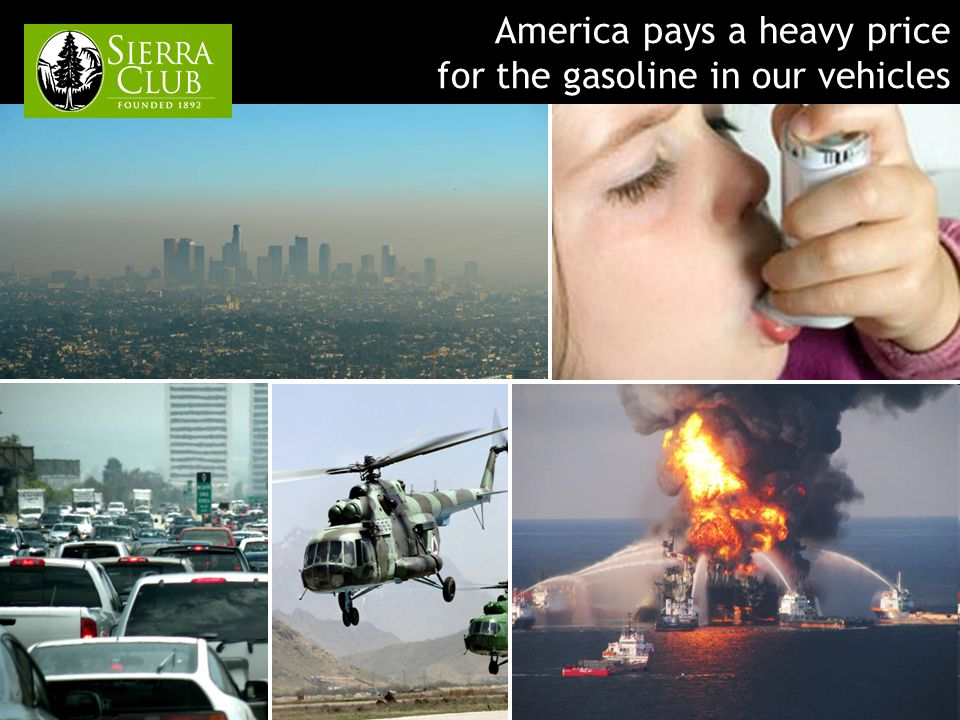 America pays a heavy price for the gasoline in our vehicles