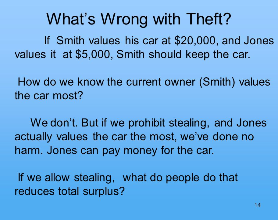 14 Whats Wrong with Theft.
