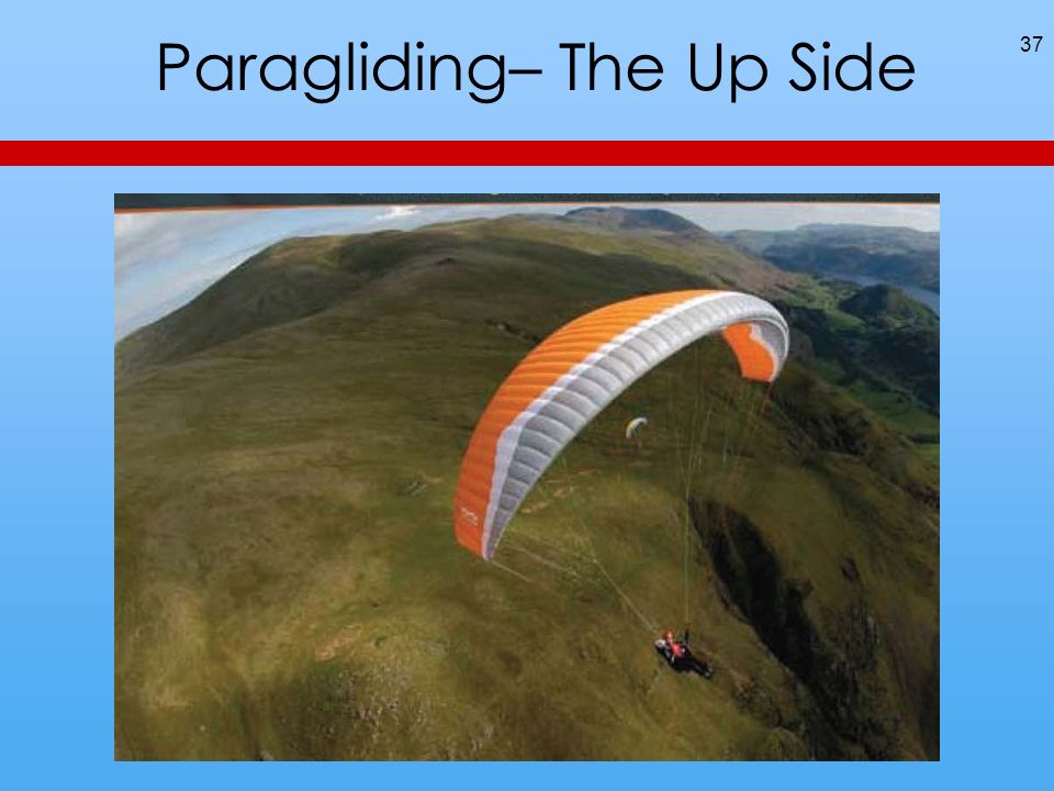 Paragliding– The Up Side 37