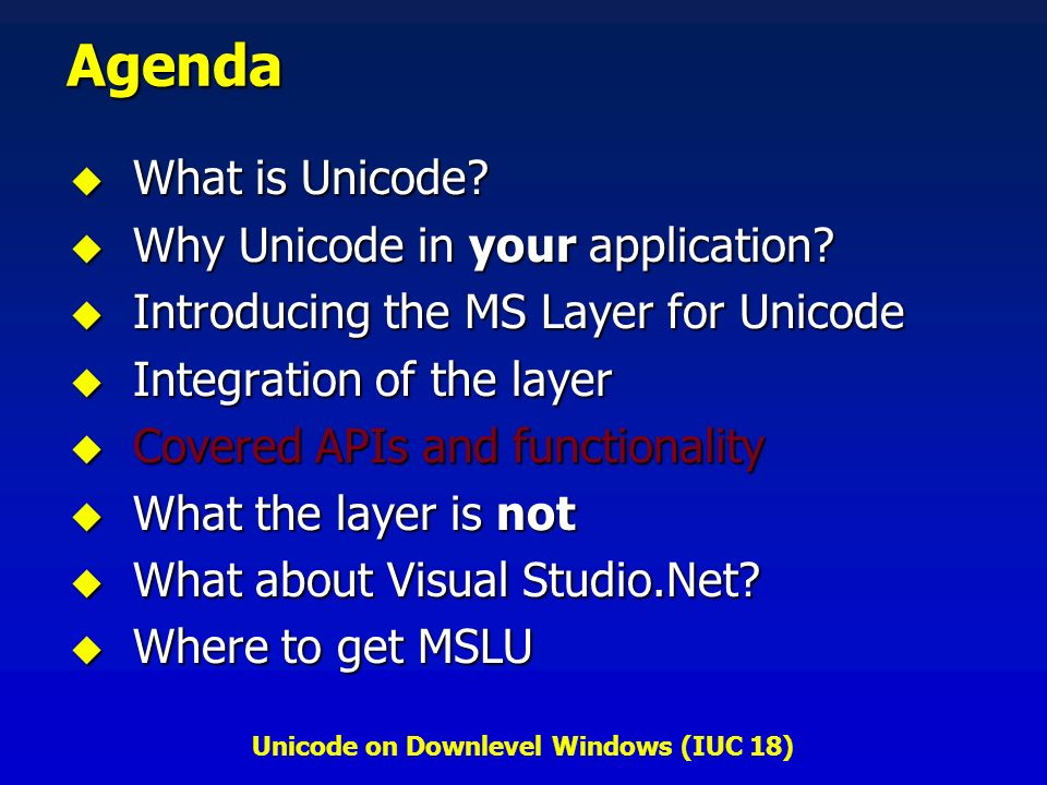ms layer unicode