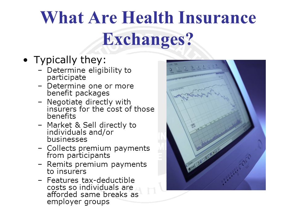 What Are Health Insurance Exchanges.