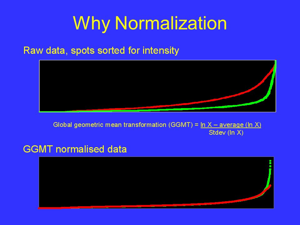 Why Normalization