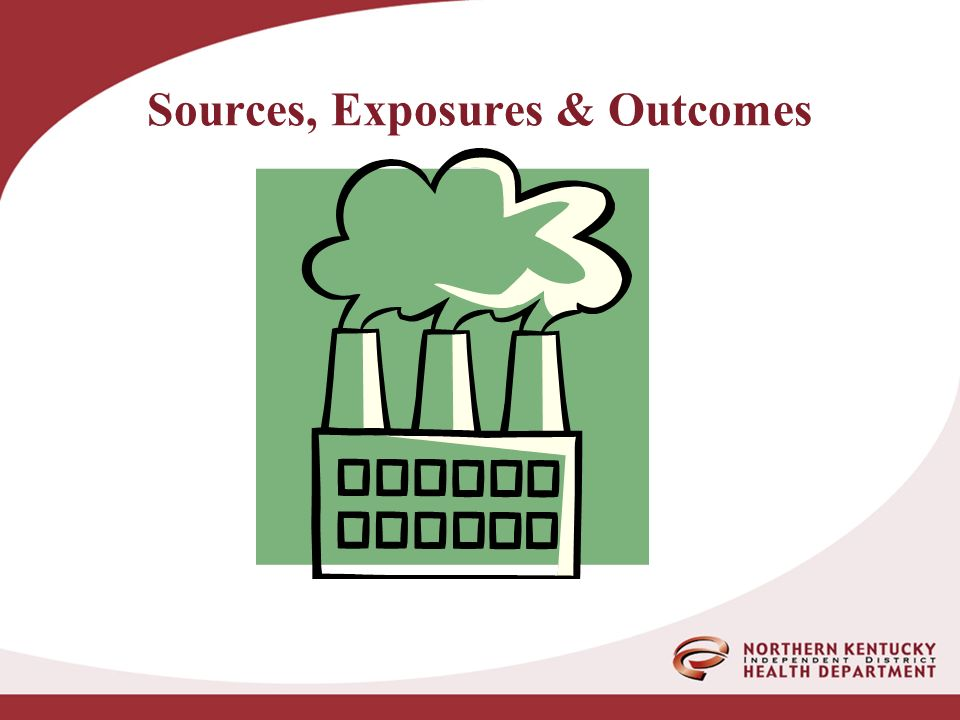 Sources, Exposures & Outcomes