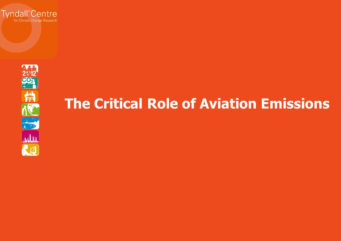 The Critical Role of Aviation Emissions