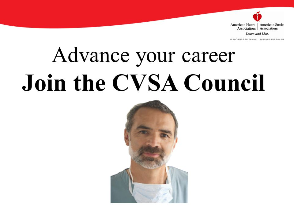 Advance your career Join the CVSA Council