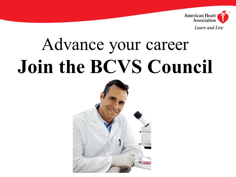 Advance your career Join the BCVS Council