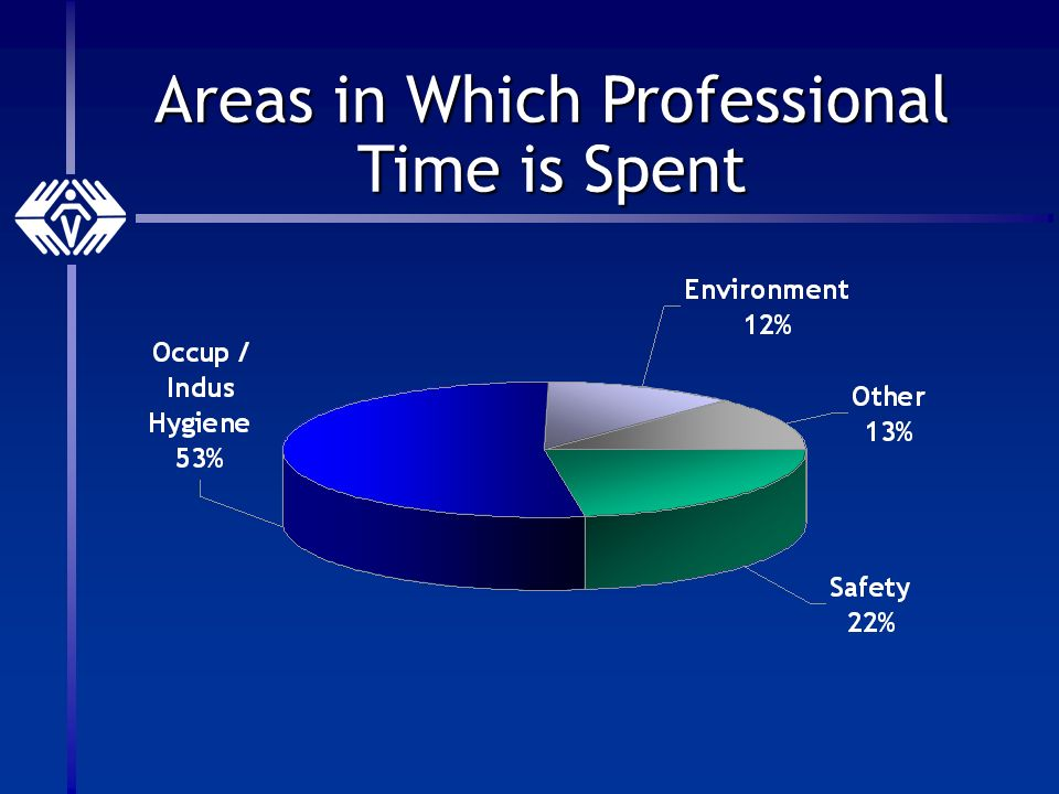 Areas in Which Professional Time is Spent