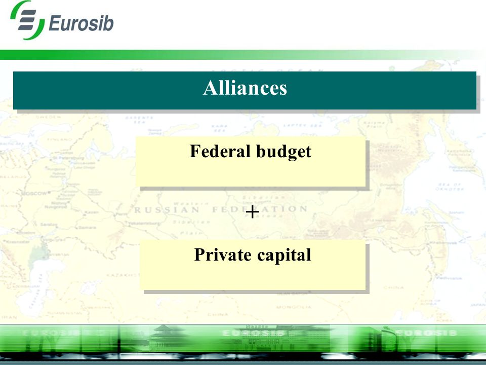 Alliances Federal budget Private capital +
