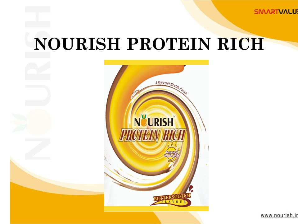 www.nourish.in NOURISH PROTEIN RICH