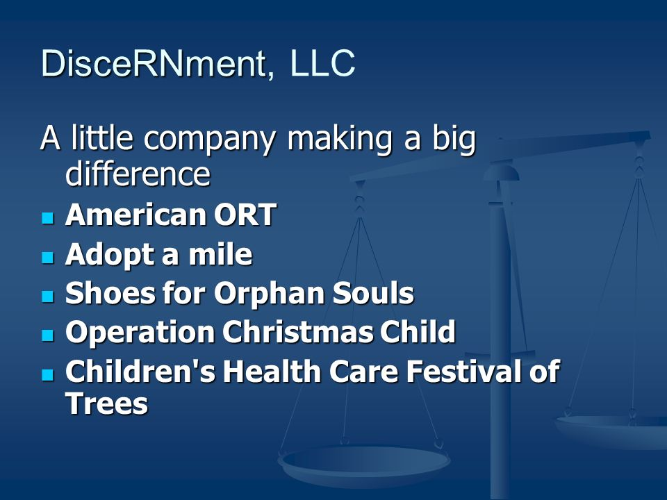 A little company making a big difference American ORT Adopt a mile Shoes for Orphan Souls Operation Christmas Child Children s Health Care Festival of Trees
