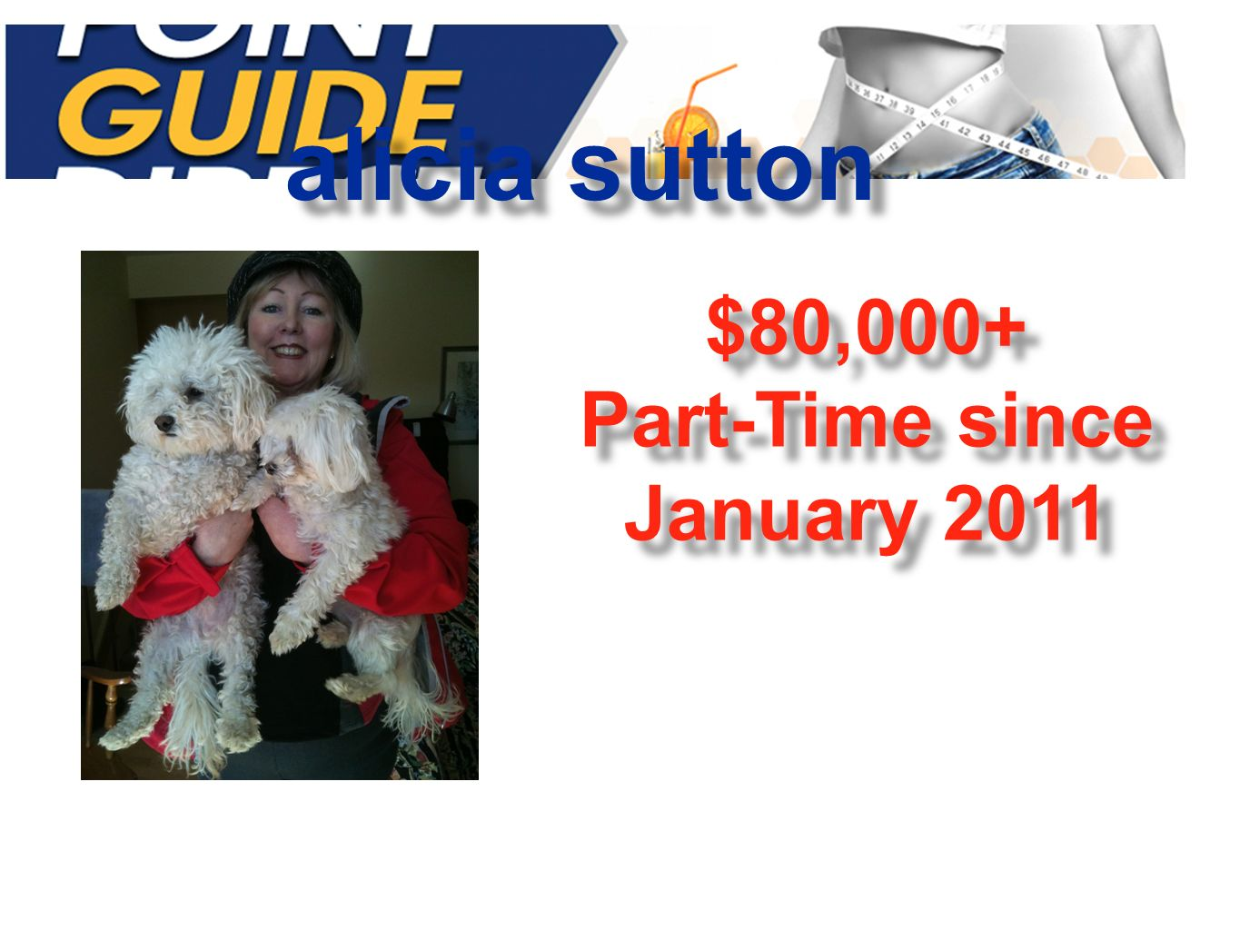 alicia sutton $80,000+ Part-Time since January 2011 $80,000+ Part-Time since January 2011