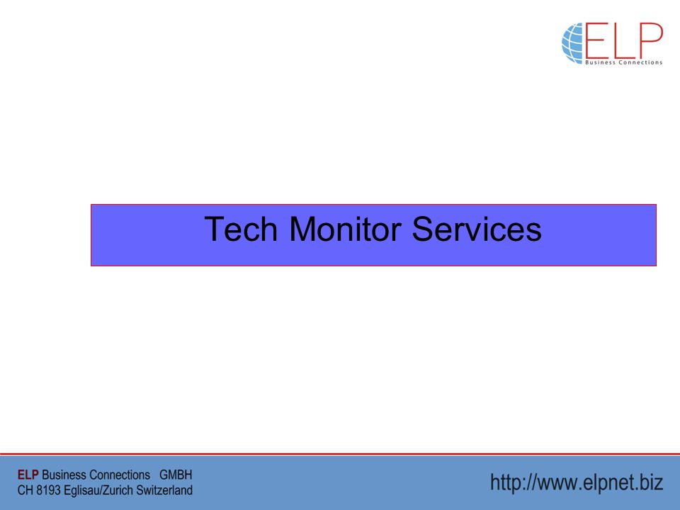 Tech Monitor Services