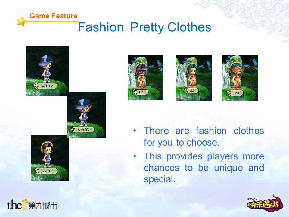 Fashion Pretty Clothes There are fashion clothes for you to choose.