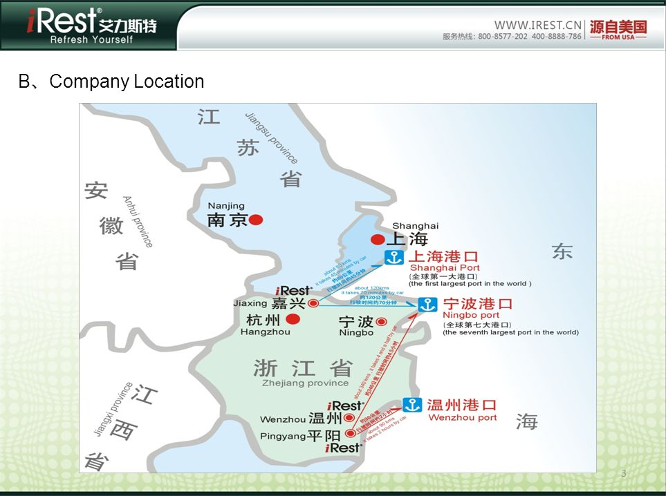 3 B Company Location