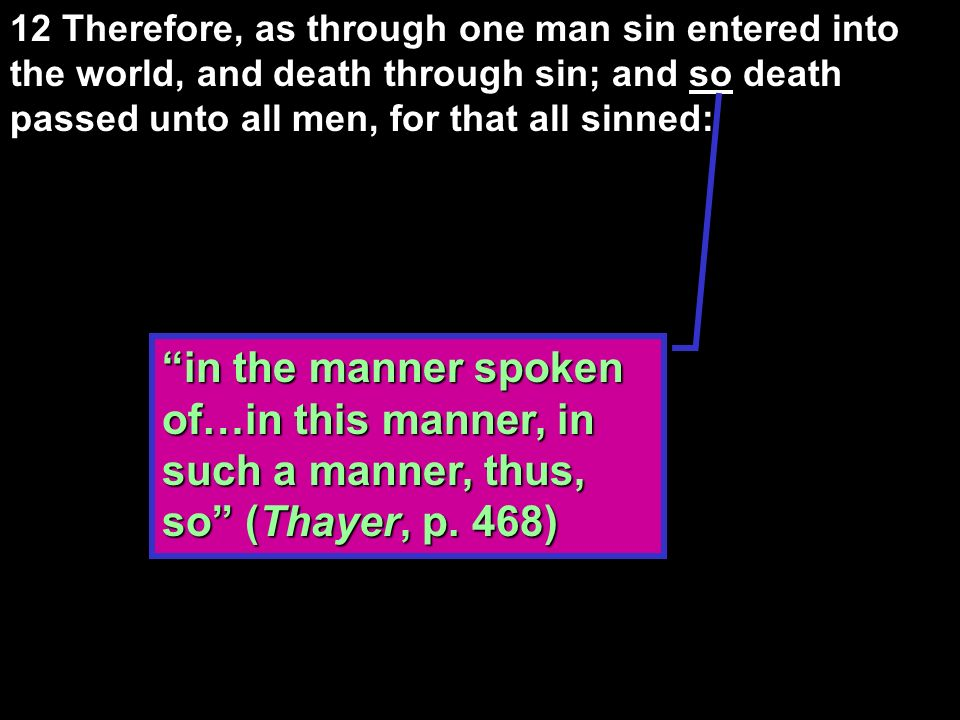 Conclusion of the theme of universal sin and justification (5:1-21) 1.