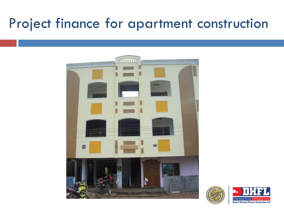 Project finance for apartment construction