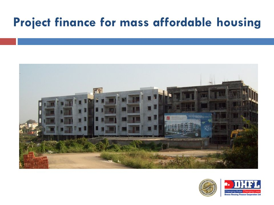 Project finance for mass affordable housing