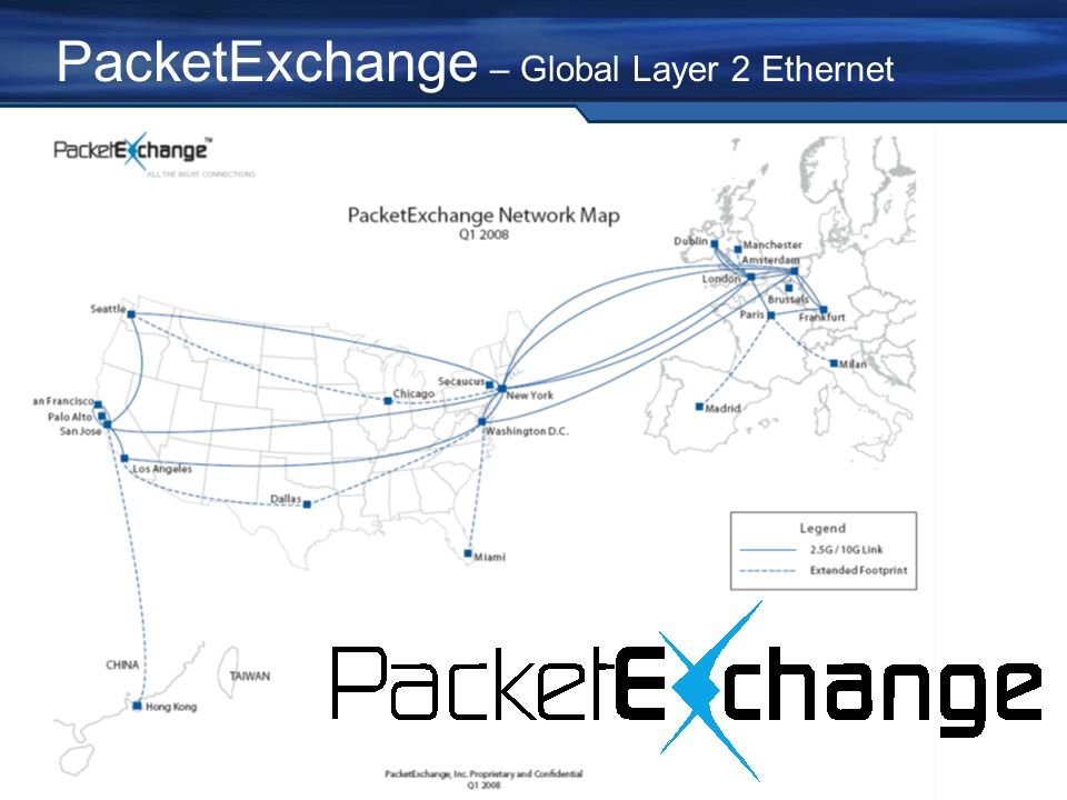 PacketExchange – Global Layer 2 Ethernet