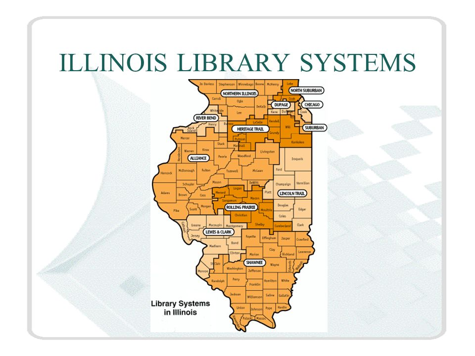 ILLINOIS LIBRARY SYSTEMS
