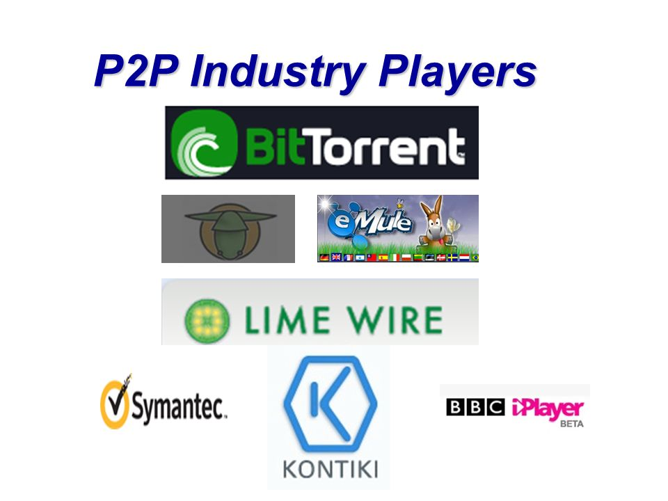 P2P Industry Players