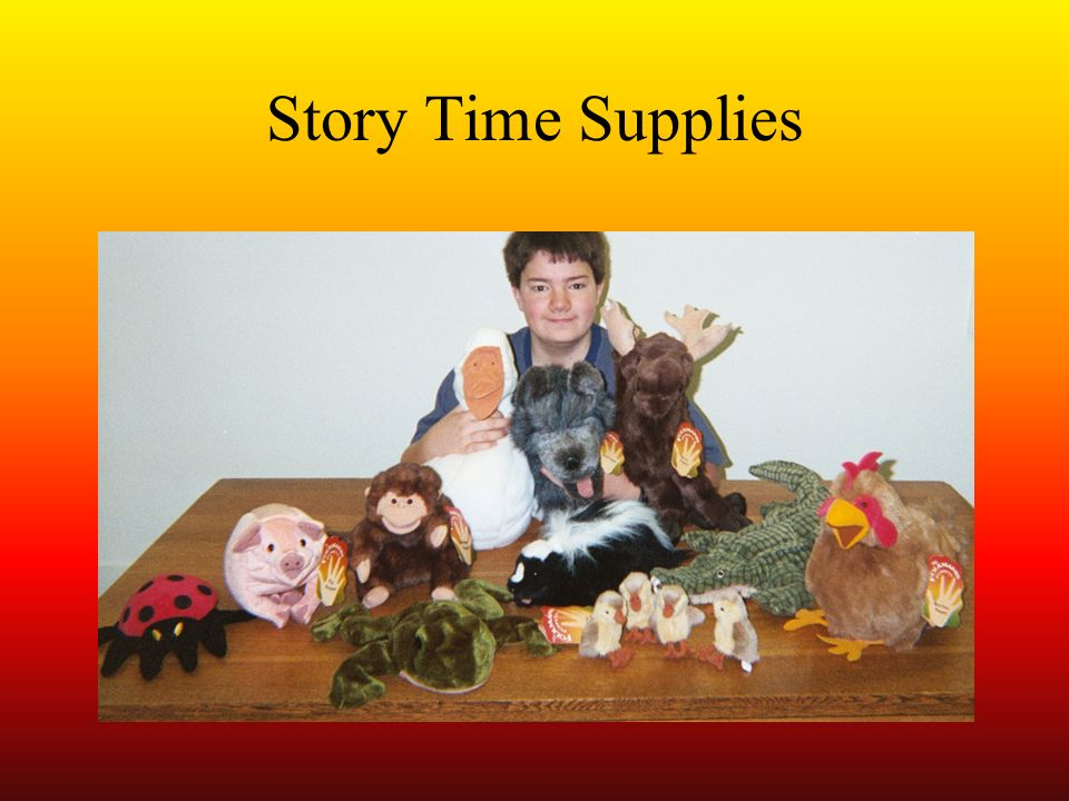 Story Time Supplies