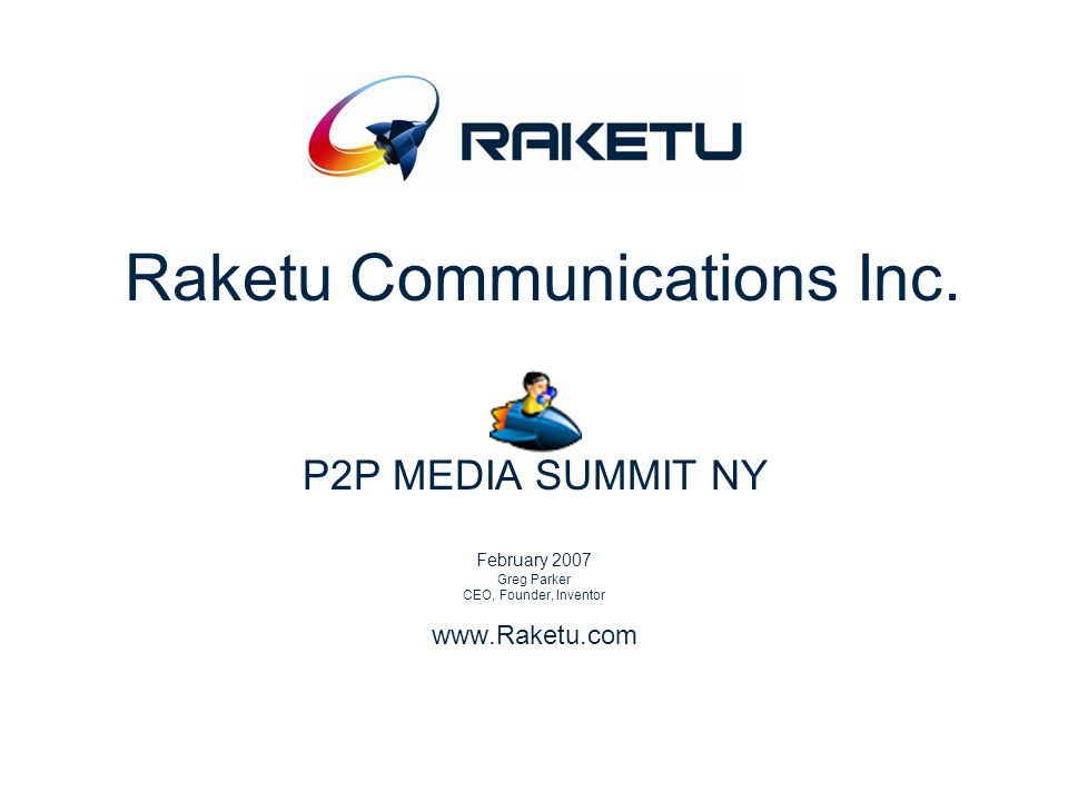 Raketu Communications Inc.