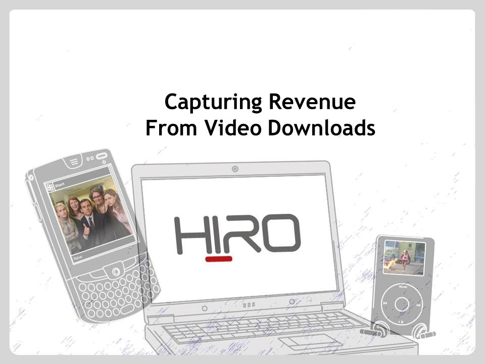 Capturing Revenue From Video Downloads