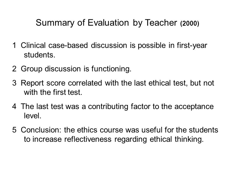 1 Clinical case-based discussion is possible in first-year students.