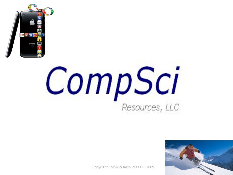 Copyright CompSci Resources LLC